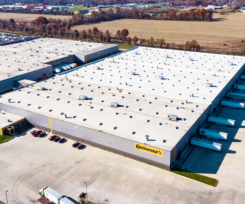 Continental Tire Distribution Warehouse