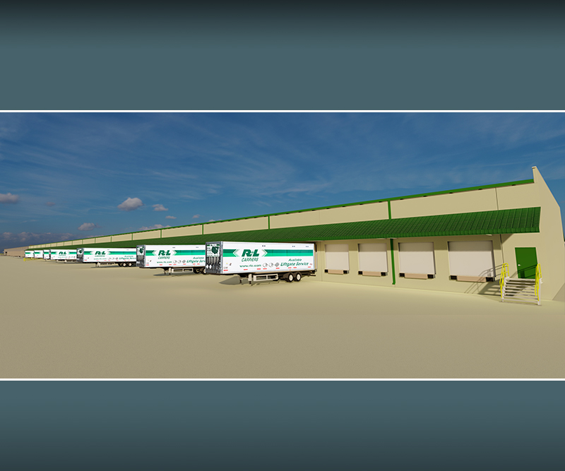 R+L Carriers Cross Dock Distribution Facility Expansion